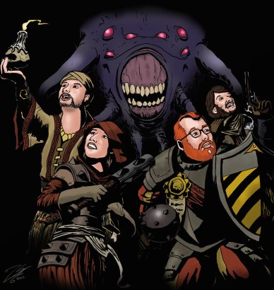 Co-optional crew in the Darkest Dungeon