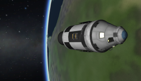 The Jani CSM in orbit of Earth